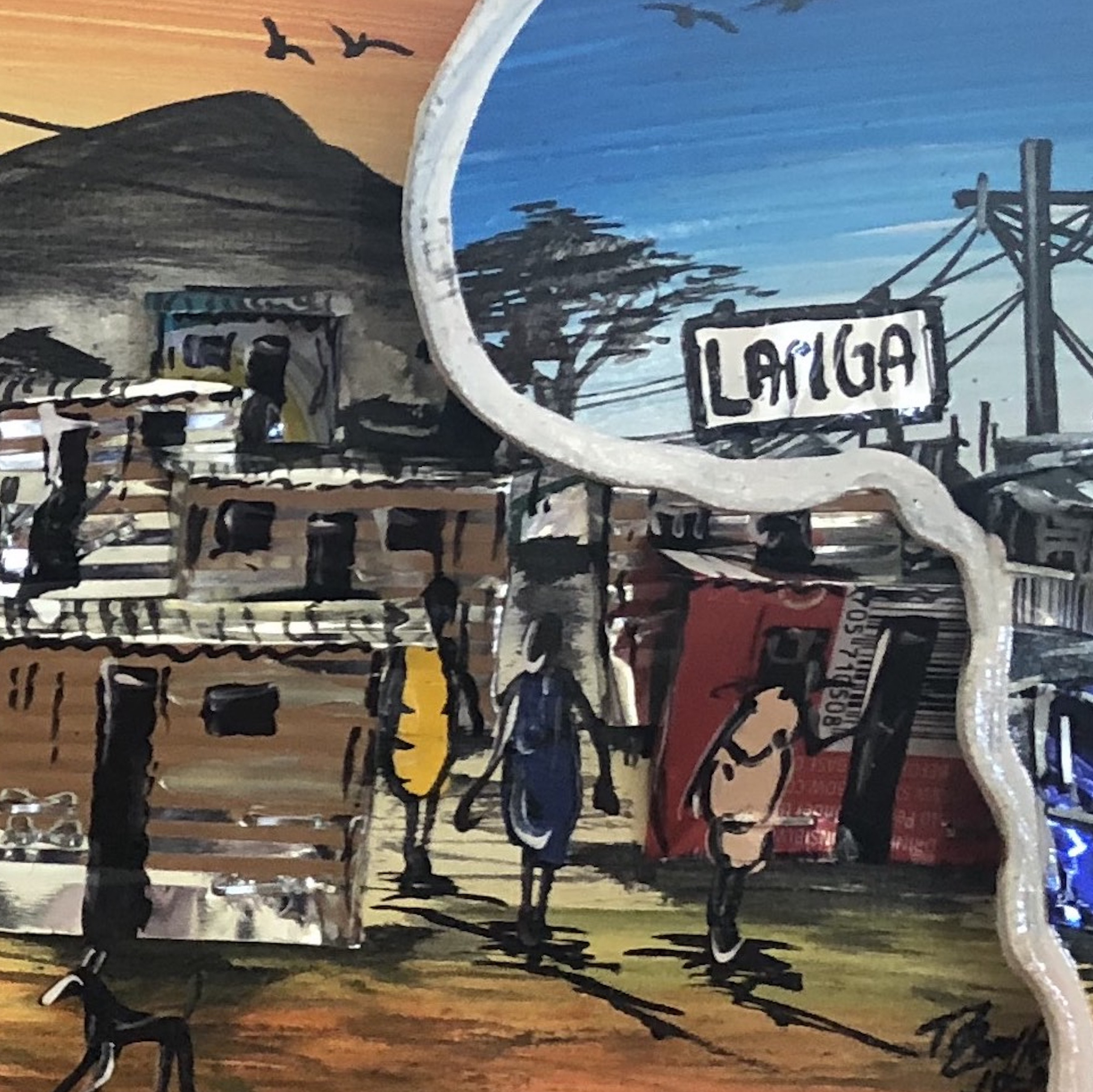 Community contact - Art of Langa Township - square